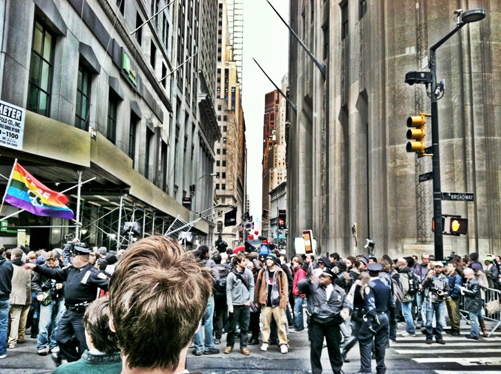 OWS 1 Photo of the Day: Chaos from the #OWS Protests in Gotham City