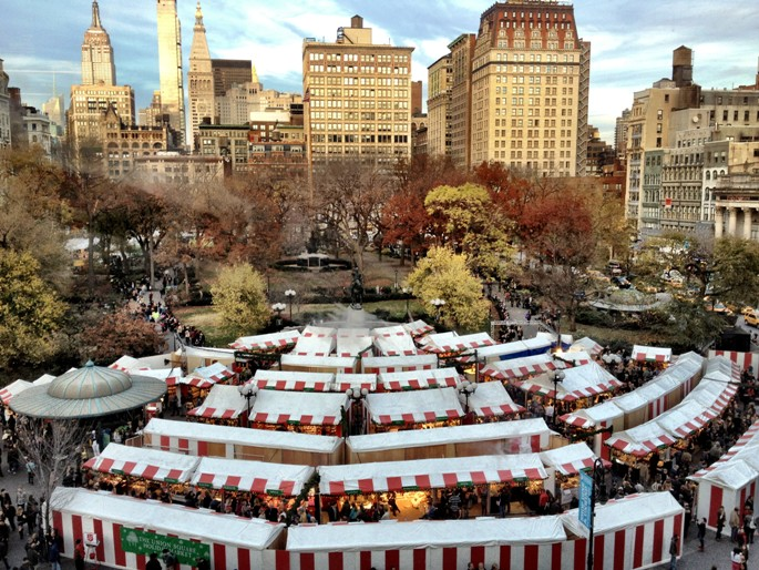 Union Square Holiday Market Photo