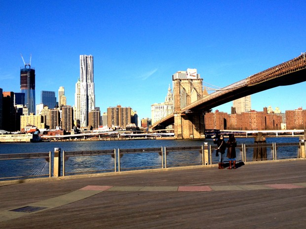 Artisan brooklyn shops - View of NYC from DUMBO pier