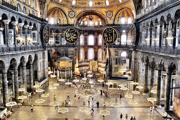 Travel the world icons of istanbul culture ist magazine travel travel the world icons of istanbul this photo was taken from the second floor of the hagia sophia were the grandeur and splendor of the architecture can aloadofball Images