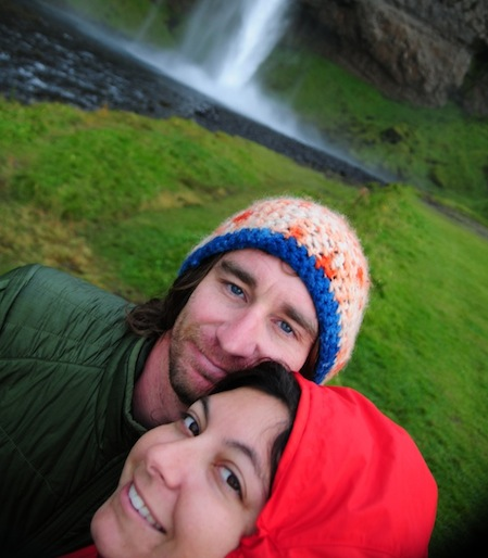 Beth & Randy of Beers and Beans in Iceland