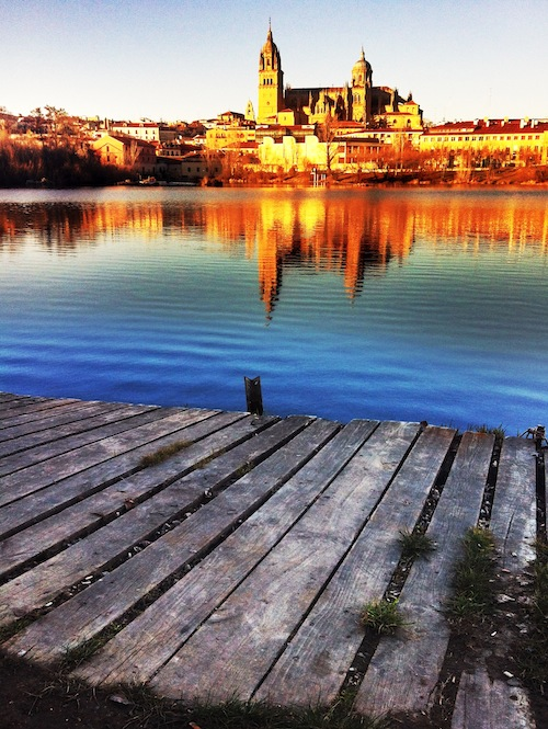tormes river salamanca, spain