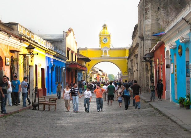 Travel the World: Arc Street, Antigua, Guatemala