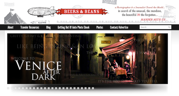 beers and beans venice after dark