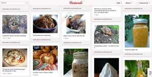 Attainable Sustainable - food board Pinterest