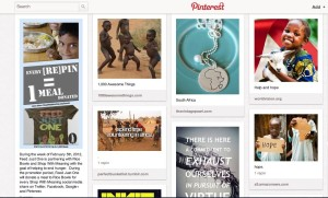 Amnesty International - philanthropy board Pinterest