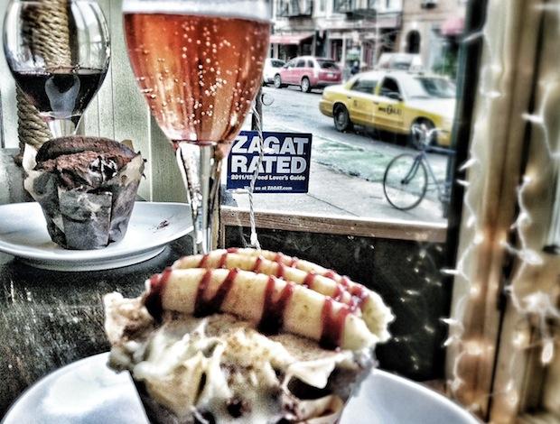 Cupcake and Wine at Sweet Revenge, NYC