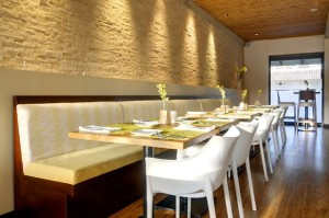 Citron's beautiful dining room where local specialties are served. It's considered one of the best restaurants Costa Rica has to offer