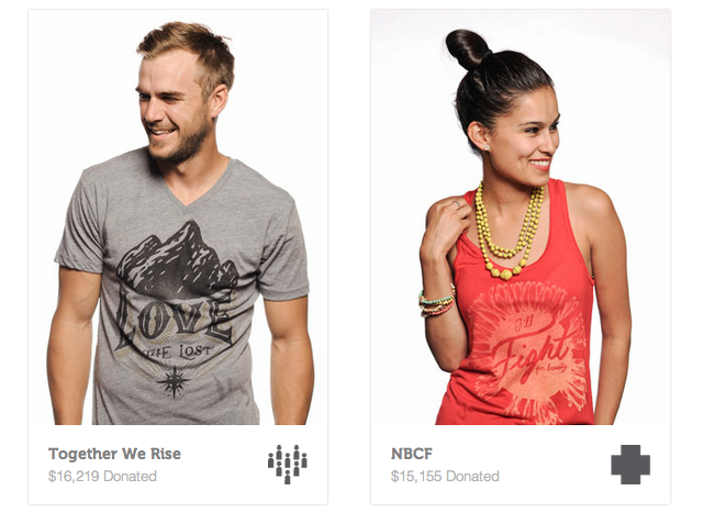 Sevenly t-shirts - World Change is How We Roll