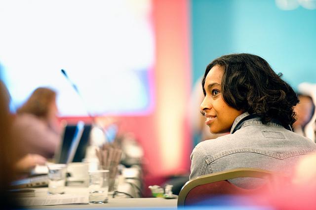 Women CEO's at Women-Run Startups networking event