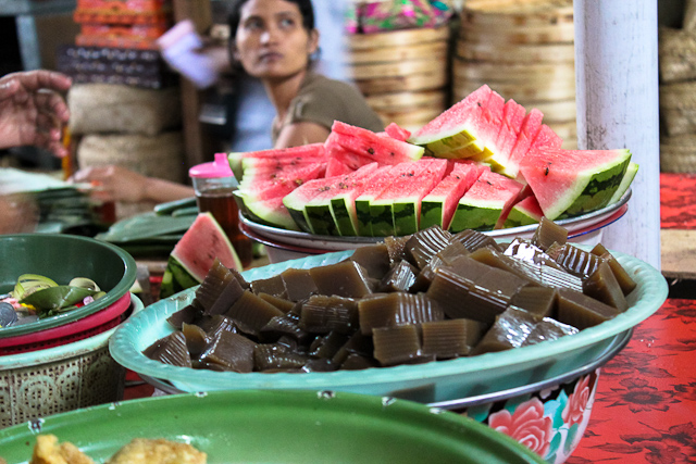 East Bali Market - Local Balinese Sweets