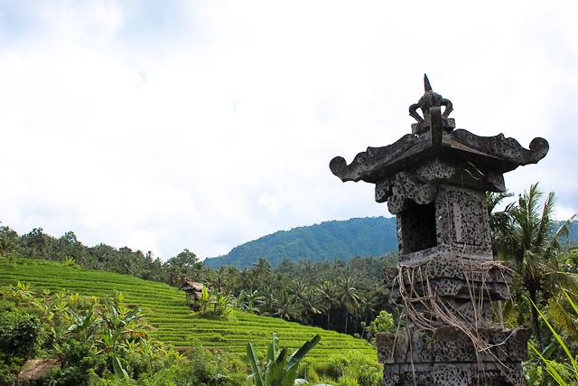 East Bali - Local Shrine in Alila Manggis Rice Terraces