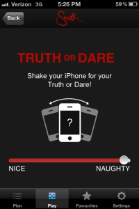 Mr and Mrs Smith Hotel - Play - Truth or Dare