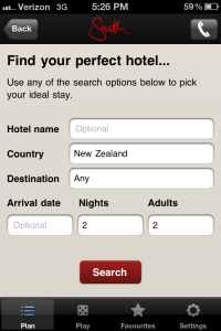 Mr and Mrs Smith Hotel App - Book Hotels