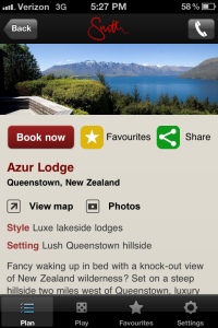 Mr and Mrs Smith Hotel App - Book Hotels - Azur Lodge New Zealand