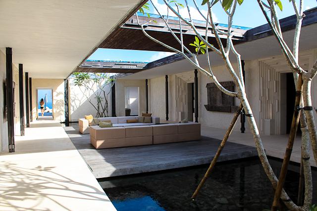 Alila Villas Uluwatu, Bali - Outdoor Living Room in Three Bedroom VIlla