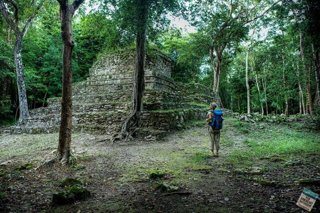 Chunyaxchà Mayan Ruins at Muyil - Ken Kaminesky