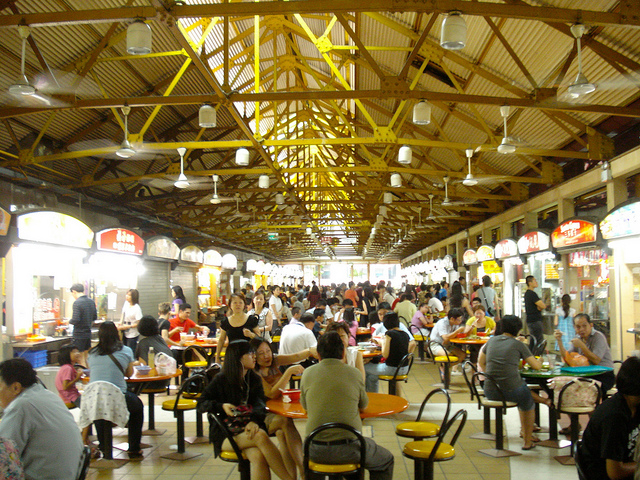 Singapore hawker stand food culture