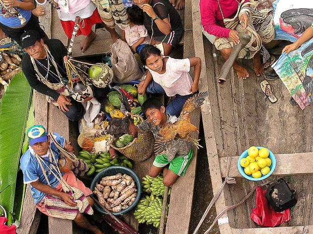 brazil floating market