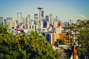 seattlefromkerrypark 300x200 Get Cultured: Seattle   A Local Guide to this Hip Citys Food, Coffee and Markets