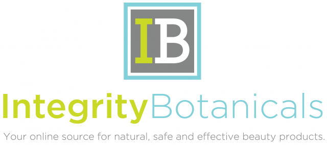 IB logo with name centered with tagline e1347491356878 Integrity Botanicals @ The Market