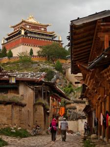 An Old Town Street in Shangri-la