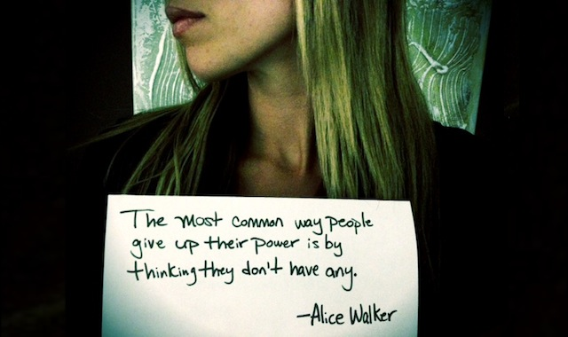 Alice Walker Quote - Miss Representation