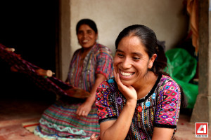 RosaCojBocel Mom Weaving 300x200 What is it Really Like to Live on One Dollar a Day? Four American Students Find Out