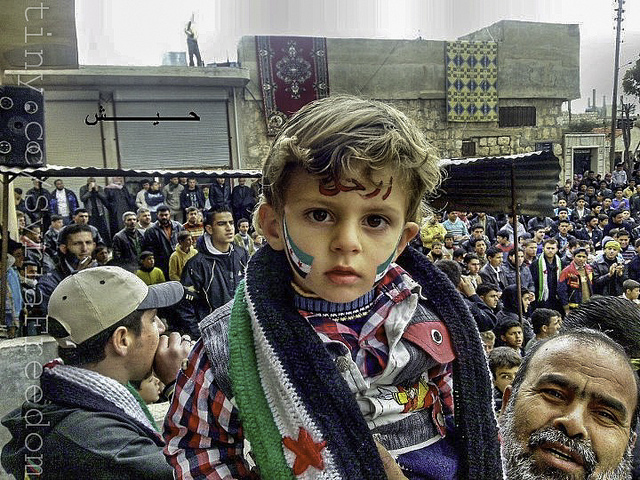 freedom child syria