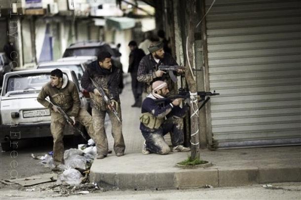 syria gunman
