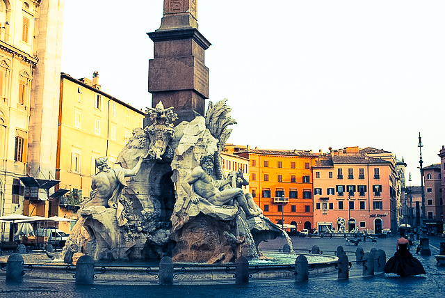 Fountain of the Four Rivers at Piazza Navona