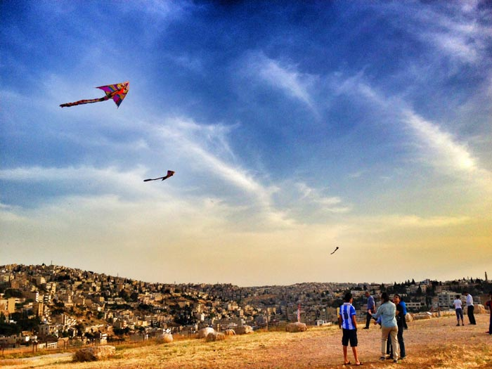 kite flying amman