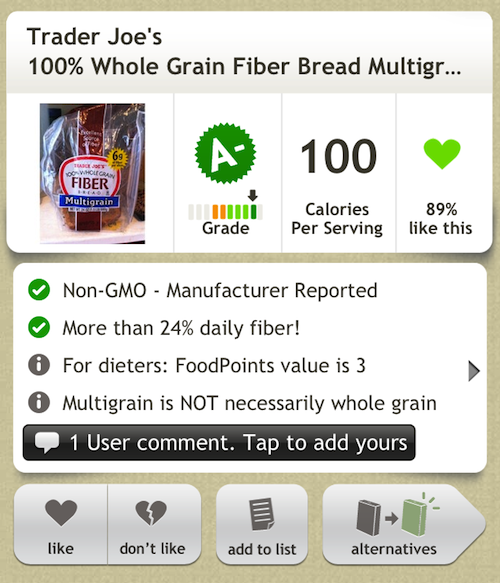 photo 6 Want to Know if Your Food Contains GMOs? This App Can Help You Out