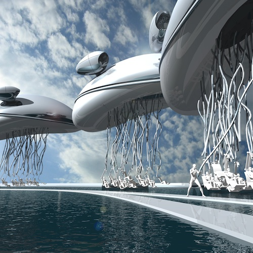 10 TF1 SMOB blimp Soft Cars and Living Homes: How Biologically Based Architecture May be the Key to Greening Our Cities
