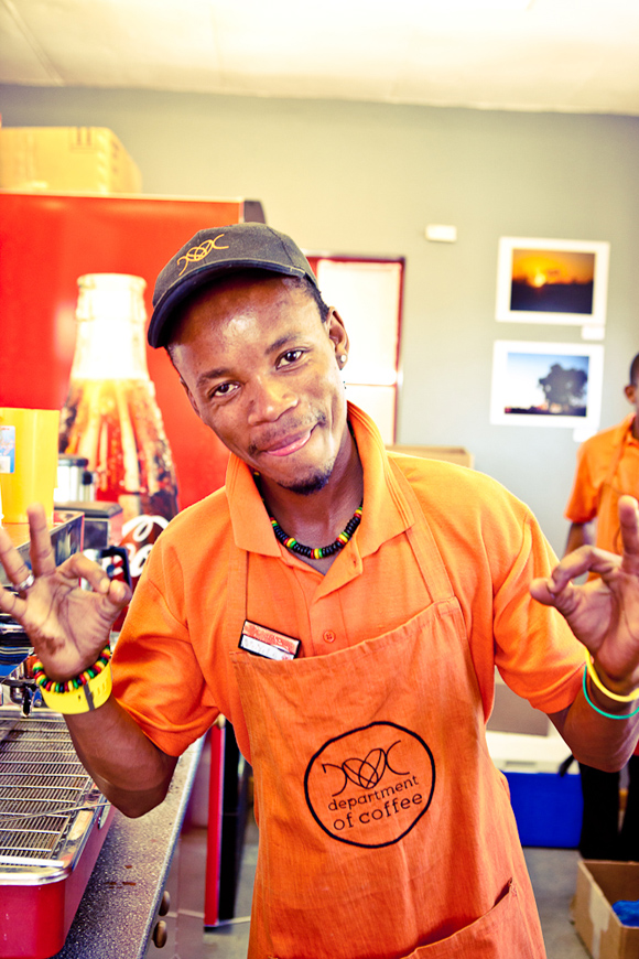 Department of Coffee Barista In South Africas Khayelitsha, Hope Brews in the Townships First Ever Coffee Shop
