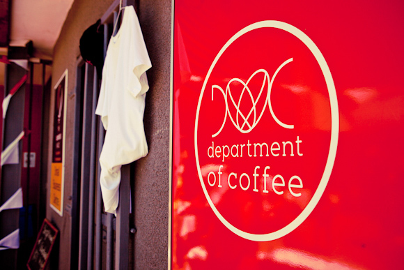 Department of Coffee Logo In South Africas Khayelitsha, Hope Brews in the Townships First Ever Coffee Shop