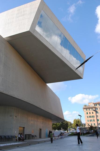 MAXXI exterior by Fabienne Zwagemakers Romes Modern Art Renaissance