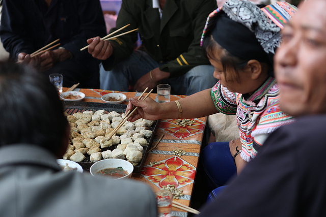 Hani woman preparing stinky tofu - Perennial Plate