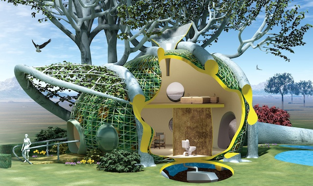 terreform fab tree hab joachim 2012 1 Soft Cars and Living Homes: How Biologically Based Architecture May be the Key to Greening Our Cities