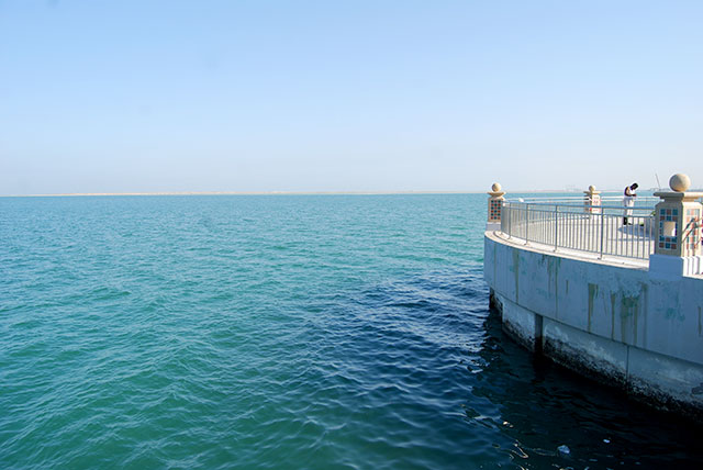 Jubail compound ocean view
