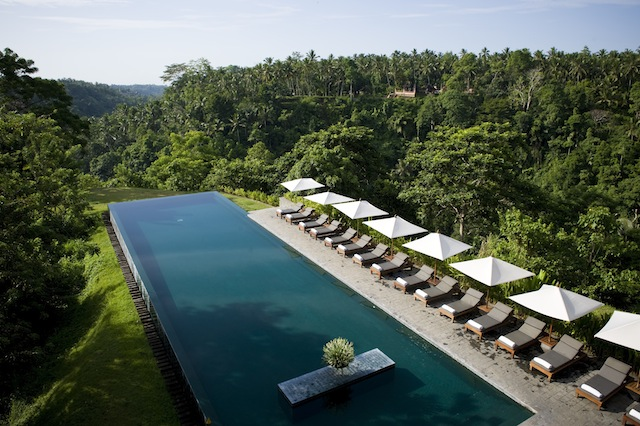 alilaubud award winning pool 2 Get Cultured: Ubud   Exploring Balis Bucolic Artisan Hub