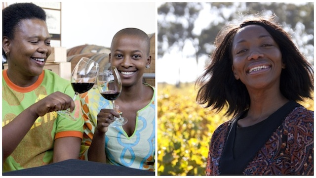 south africa women and wine