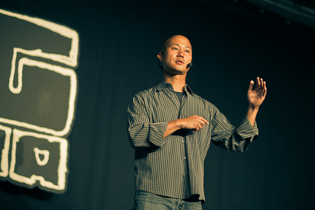 Tony Hsieh How Great Leaders Use Passion, Purpose and Principles to Inspire Their Team