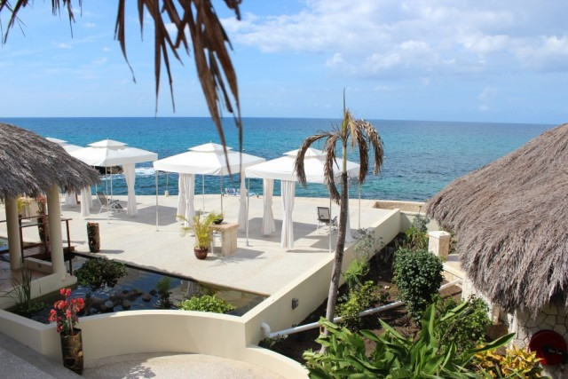 View From Balcony of Caribbean Sea - The SPA Retreat