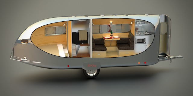 Bowlus Chief This New Futuristic Travel Trailer is Like Having Your Own Luxury Hotel on Wheels
