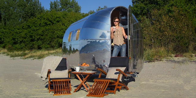 Bowlus Luxury Trailer
