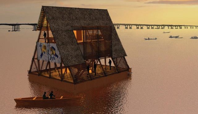 Makoko School 1 This Floating School in Nigeria is Pioneering Sustainable Development of Coastal Cities