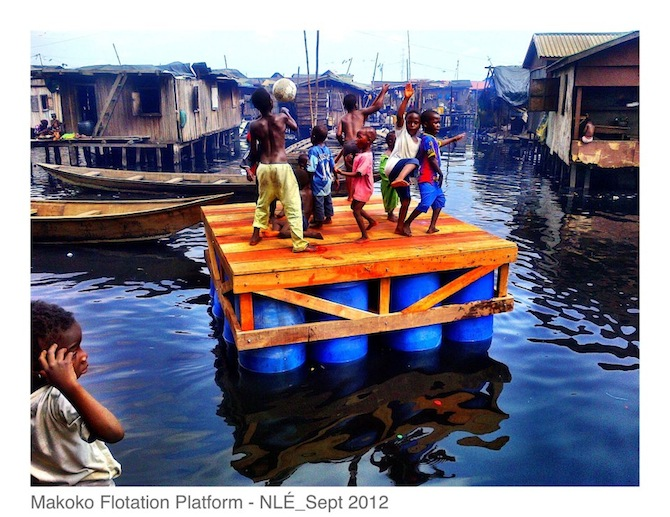 Makoko Slum This Floating School in Nigeria is Pioneering Sustainable Development of Coastal Cities