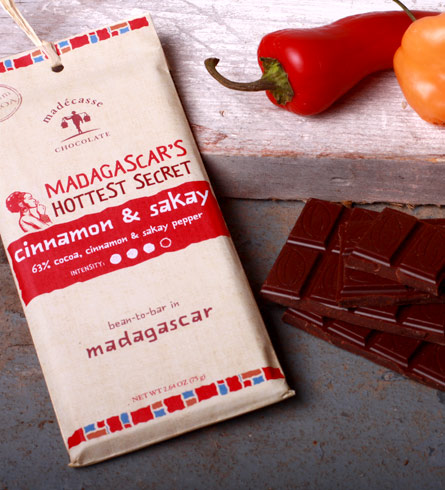 cinnamon and sakay chocolate madecasse
