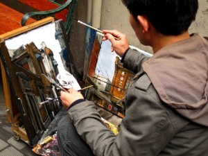 Artist Tian Zi Fang 300x225 Get Cultured: Shanghai   A Local Guide to the Paris of the East